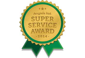 T&G Roofing awarded Angie's List Super Service Award
