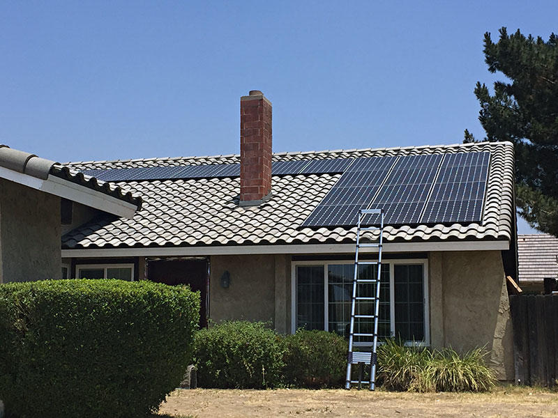 Recessed Solar Roof Project By T Amp G Roofing And Solar