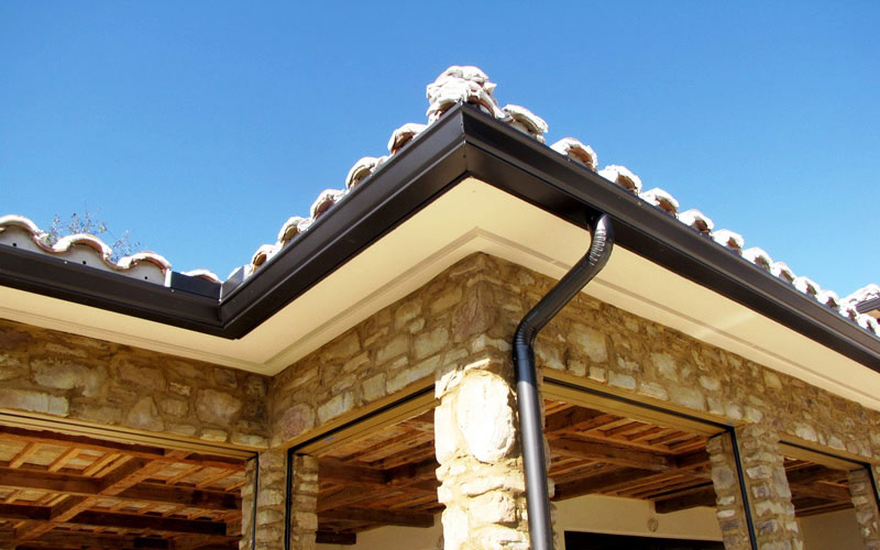 T&G Roofing offers Rain Gutters through Ranch Rain Gutters