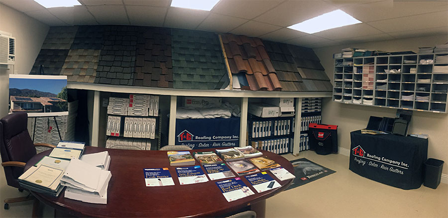 T&G Roofing Showroom