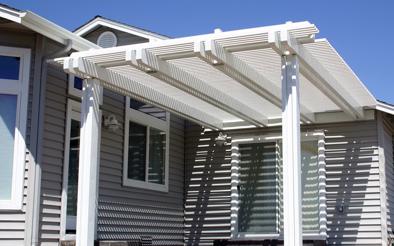 Patio covers services offered by t g roofing and solar for T g roofing
